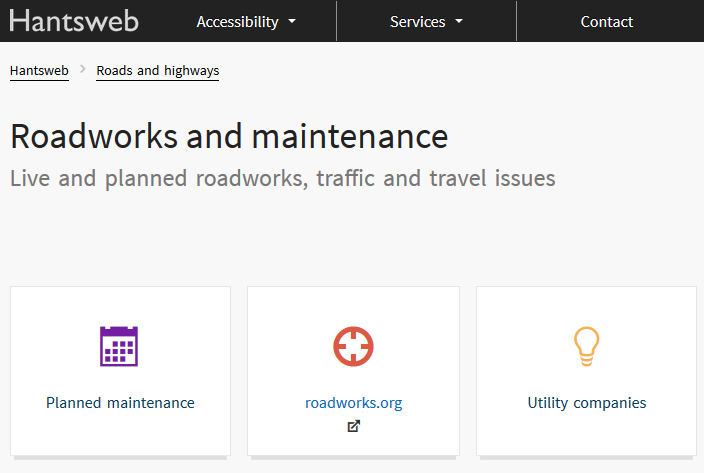 Roadworks and Maintenance