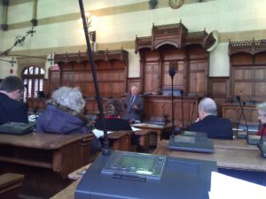 County Council debating chamber